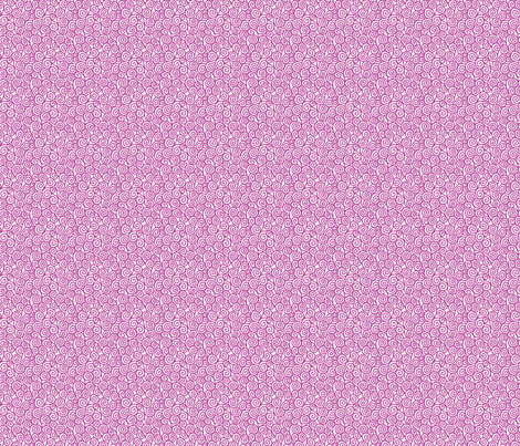 Spirals-Fuchsia fabric by groovity on Spoonflower - custom fabric