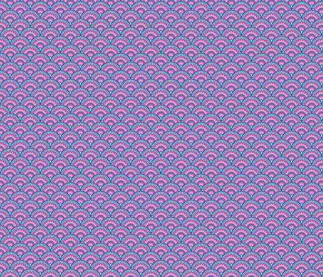 Scallopy-Cool fabric by groovity on Spoonflower - custom fabric