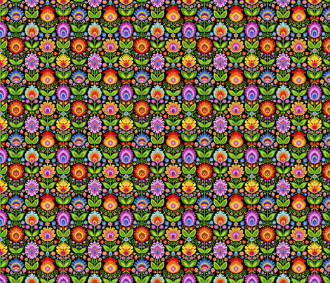 Garden Beds-Small fabric by groovity on Spoonflower - custom fabric