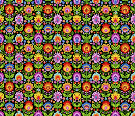 Garden Beds-Medium fabric by groovity on Spoonflower - custom fabric