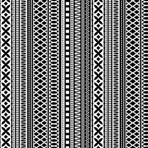 Folk Stripe-Black