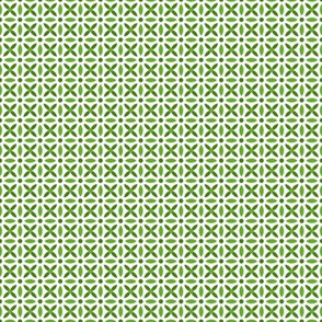 Folk Stitch-Green