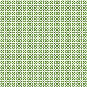 Folk Stitch-Green