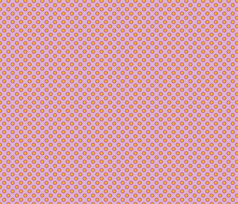 Daisy Dot-Pink fabric by groovity on Spoonflower - custom fabric