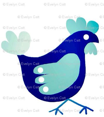 Teal Chicken