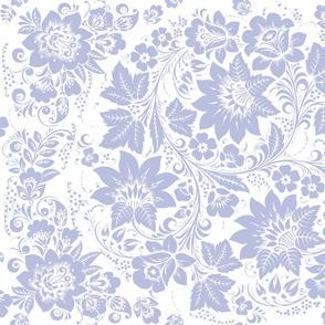 Halmstad in blue violet