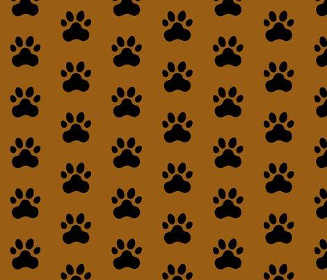 R20150927-069_-_fabric_design_-_black_pawprint_on_brown_995e13_shop_preview