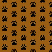 R20150927-069_-_fabric_design_-_black_pawprint_on_brown_995e13_shop_thumb