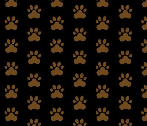 R20150927-049_-_badge_design_-_pawprint_-_brown_6e4a1c_on_black_-_fabric_test_shop_preview