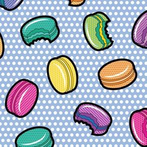 Lichtenstein Macarons - Blue
