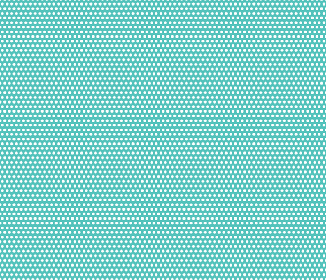 Lichtenstein Dots - Teal fabric by robinskarbek on Spoonflower - custom fabric