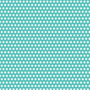Lichtenstein Dots - Teal