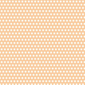 Lichtenstein Dots - Orange