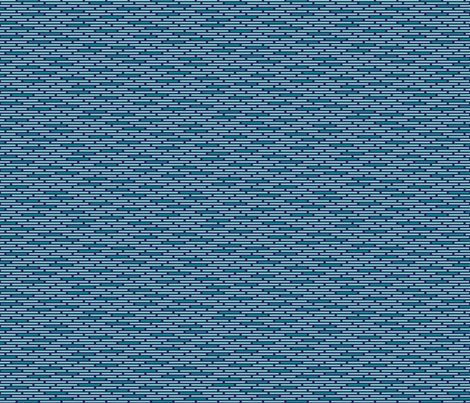 Hip Dashes Deep (Ocean) fabric by brendazapotosky on Spoonflower - custom fabric