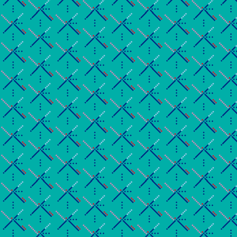 PDX Carpet fabric by blackheartdiapers on Spoonflower - custom fabric
