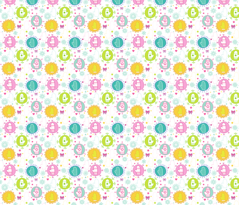 Winter Mittens fabric by puggy_bubbles on Spoonflower - custom fabric
