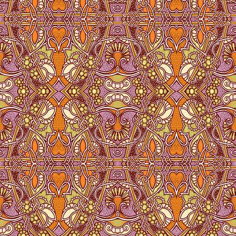 Muddy Garden Days fabric by edsel2084 on Spoonflower - custom fabric