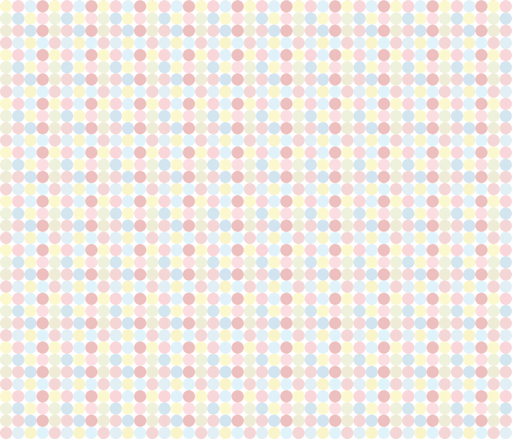Pastel Disco Dots fabric by puggy_bubbles on Spoonflower - custom fabric