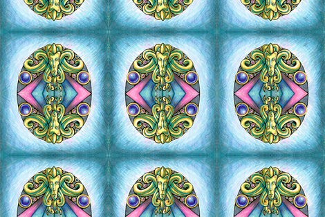 Dream Archway fabric by jericl_cat on Spoonflower - custom fabric