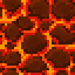 8-bit Lava Block Design Two