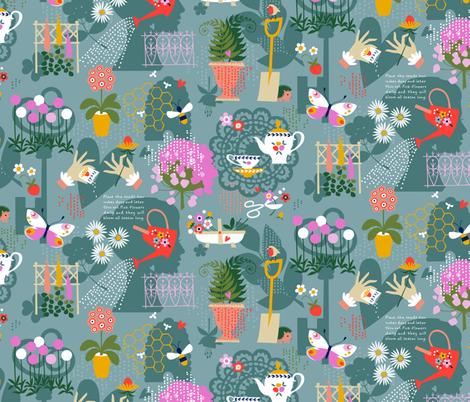 Yard Work fabric by cerigwen on Spoonflower - custom fabric