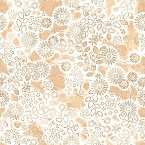 Floral Lace in flesh color