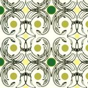 Krakens with Green Polka Dots