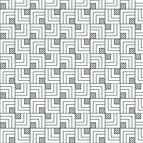 Optical Overlapping Squares fabric by house_of_heasman on Spoonflower - custom fabric