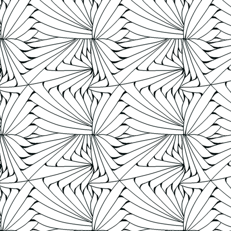 Folded Ribbons fabric by house_of_heasman on Spoonflower - custom fabric