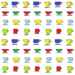 Colorful Mugs - Bright