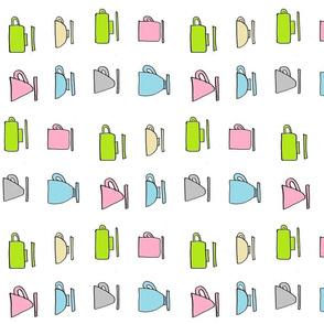 Coffe Mugs - pastels Vertical