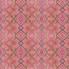 pink tribal hmong