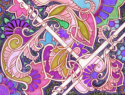 Cosmic Orchid Dance