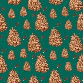 Pining for Pinecones (Green)
