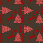 Reindeer red chocolat
