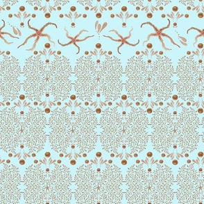 Starfish Glitz (Ice Blue)