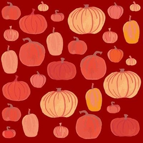 Pumpkins Red