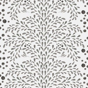 Victorian Inspiration in Silver (Snow White)