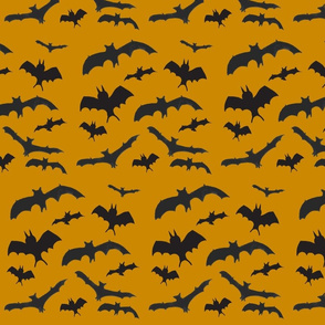 Batty Bats Orange