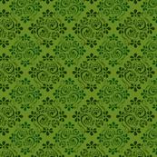Green Jacquard