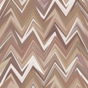 smoky quartz zigzag