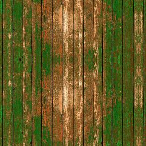Green Woodgrain