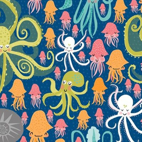 Silly Squid + Cephalopods