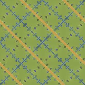 Morse Plaid (Green)