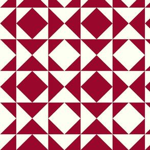 triangles mirrorsept15granate/ecru-ch