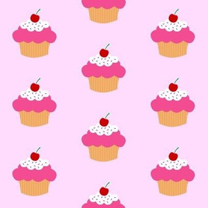 Cherry Cupcake Light Pink