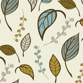 Leaves pattern 01