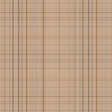 Beach Plaid 1 fabric by gingezel on Spoonflower - custom fabric