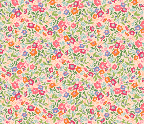 sweet blossom fabric by catalinakim on Spoonflower - custom fabric
