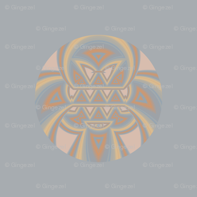 Tribal Pattern Beach Dot